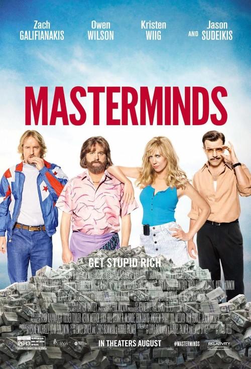 Masterminds release date in Brisbane