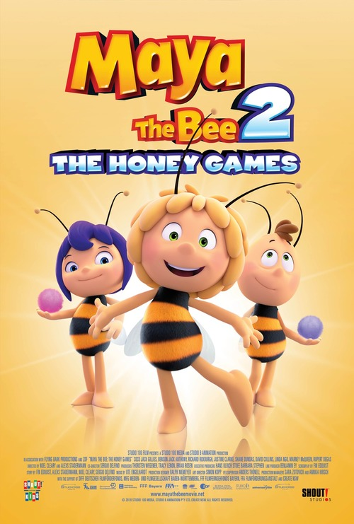 Maya the Bee: The Honey Games poster