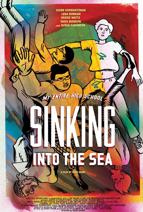 My Entire High School Sinking Into the Sea poster