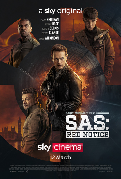 SAS: Red Notice poster
