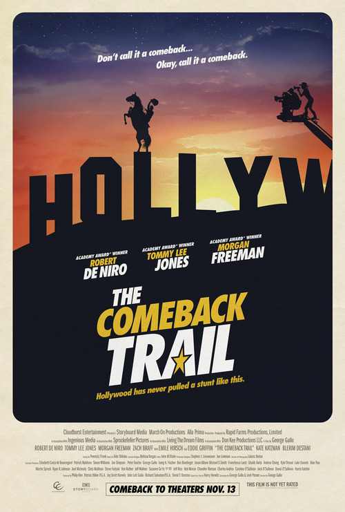 The Comeback Trail poster