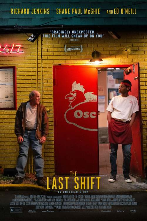 The Last Shift poster