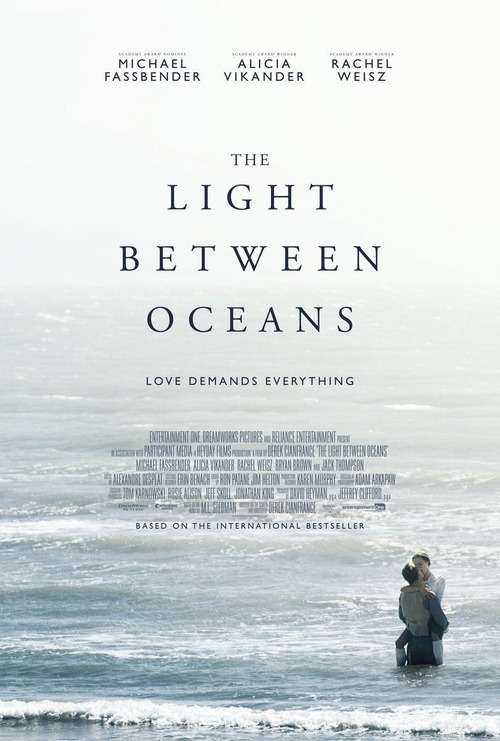 The Light Between Oceans poster