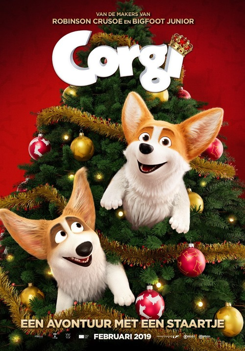 The Queen's Corgi poster